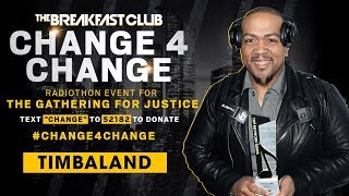 Timbaland Donates & Says He