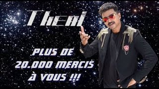 Vijay's Theri got 2nd place in France