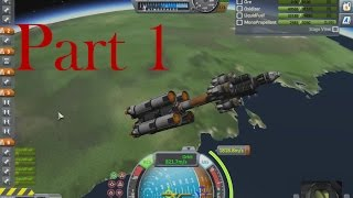 Kerbal Space Program-Mun part 1:reaching the orbit of Kerbal