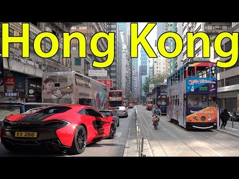 Hong Kong 4K. Interesting Facts about Hong Kong Protests People and Cuisine