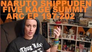 Naruto Shippuden: Five Kage Summit Arc, Ep 197-202 Review