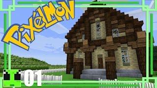 Pixelmon Builds :: Ep01 :: Pokemon Trainer House 01 :: Minecraft Tutorial