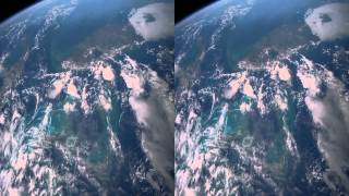 Earth Stereoscopic Side by Side 3D