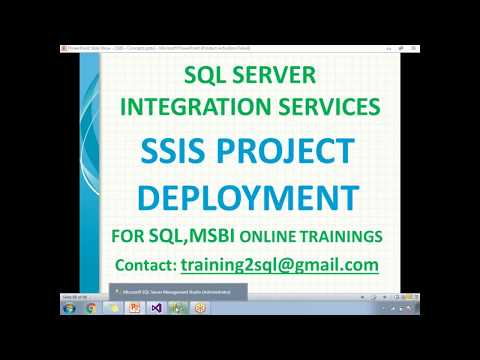 SSIS Project Deployment | SSIS Package Deployment
