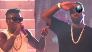 Sarkodie and Shatta Wale perform at Tigo Ghana meets Naija 2015