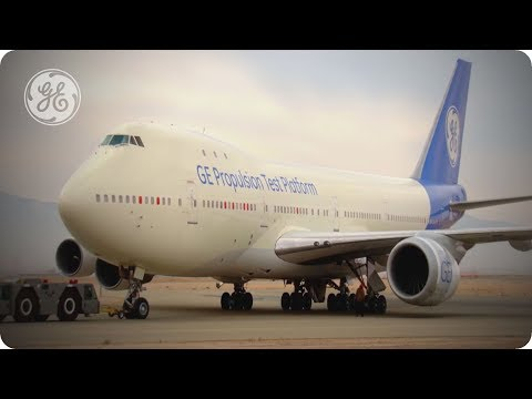 Farewell to the Queen of the Skies: The last flight of GE's 747-100 flying test bed