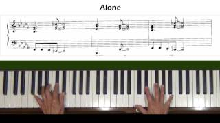 Alone by Heart Piano Accompaniment Tutorial