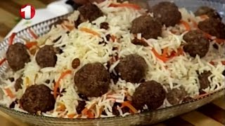 Ashpazi - How to Make Qabeli Kofta آشپزی - پختن قابل با کوفته