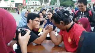 Arm Wrestling Competition at SPORA 2016