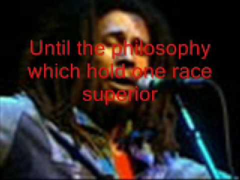 "Bob Marley & The Wailers  live - ""WarNo More Trouble"""