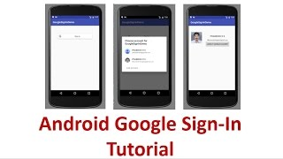 Integrate Google Sign-In to Android app