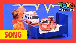 Tayo Miss Polly had a dolly with Tayo toys! l Nursery Rhymes l Tayo the Little Bus