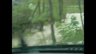 flash flood in rowan co ky.wmv