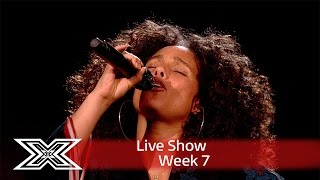 Alicia Keys performs Blended Family on The X Factor! | Results Show | The X Factor UK 2016