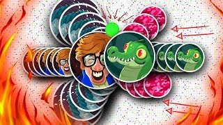 Agar.io - HOLY SHIT!! INCREDIBLE TRIPLE VANISH POPSPLIT (3x)!! MEGA ULTRA SPLITRUN!! #UNCUT GAMEPLAY