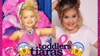 Toddlers and Tiaras Girls Then and Now 2016
