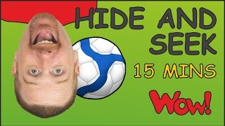 Hide and Seek + MORE | Magic English | Stories for Kids from Steve and Maggie | Wow English TV