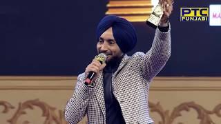 Satinder Sartaj Honored with Sangeet Sartaj Award at PTC Punjabi Music Awards 2018 (8/19)