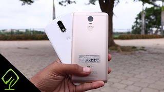 Moto G4 Plus vs Redmi Note 3