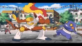 Pokemon -Top of the World AMV (Greek Fire)