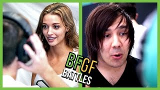 WHISPER CHALLENGE! - Popular YouTube Challenges - BFGF Battles