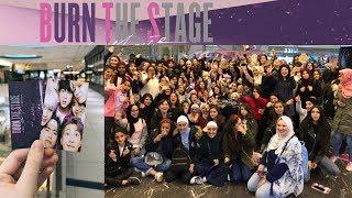اجواء فيلم بانغتان في الوطن العربي | BTS Burn the Stage