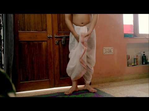 How to Wear a Dhoti in Simple and Basic Steps