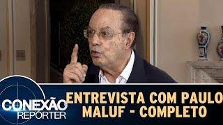 Entrevista com Paulo Maluf | Conexão Repórter (15/10/17)