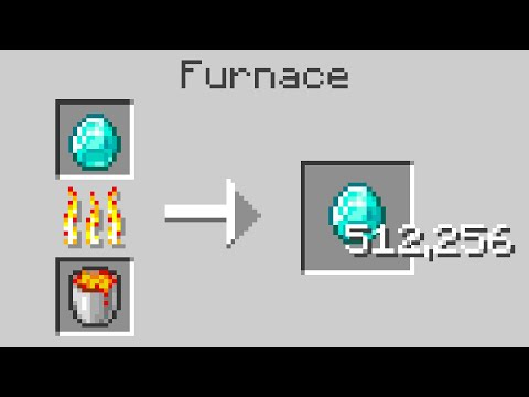 Minecraft But Smelting Multiplies Items
