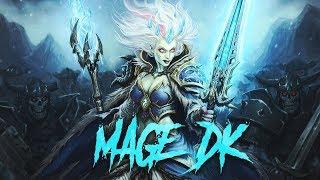 Le mage DK élémentaire de Maverick et Odemian avec Torlk