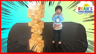 GIANT JENGA XL CardBoard block Family Fun games for kids