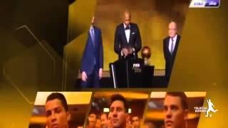 Ballon d'Or 2014   2015   Cristiano Ronaldo BeIN Sport