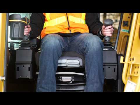 Tigercat Skidder Seat Operation