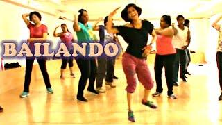 Zumba® Routine by Vijaya | Bailando by Enrique Iglesias