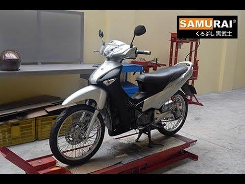 Samurai Repaint of Honda Wave125