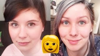 If Dan and Phil were Girls?! - FACEAPP