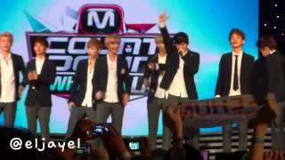 [FANCAM] 20130825 EXO Talk | M! Countdown at KCON '13