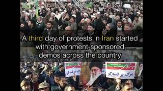 Anti-government protests continue in Iran