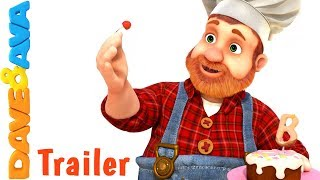 🍮 Pat A Cake – Trailer | New Nursery Rhymes from Dave and Ava 🍮