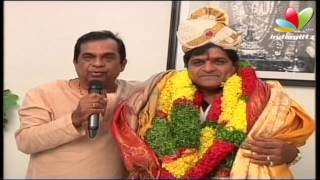 Brahmanandam has honoured comedian Ali for receiving the doctorate