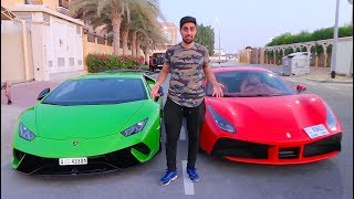 CHOOSING MY NEW CAR !!! ( LAMBORGHINI OR FERRARI )