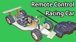 HOW TO Make A Simple F1 RC Car | Remote Controlled Car at Home