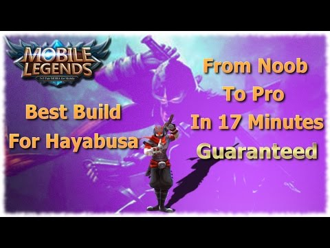 Mobile Legends Best Build For Hayabusa | Unbeatable Guide