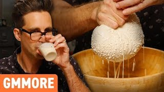 DIY Peanut Milk Taste Test