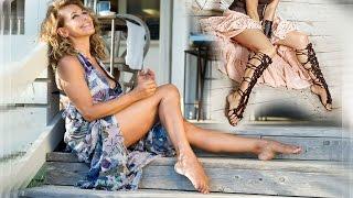 Barbara D'Urso piedi nudi feet barefoot