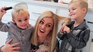 SUNDAY MORNING ROUTINE WITH 2 KIDS! 💇🏼👦🏼👦🏼