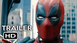 Deadpool 2 Official Trailer #2 (2018) Ryan Reynolds Marvel Movie HD