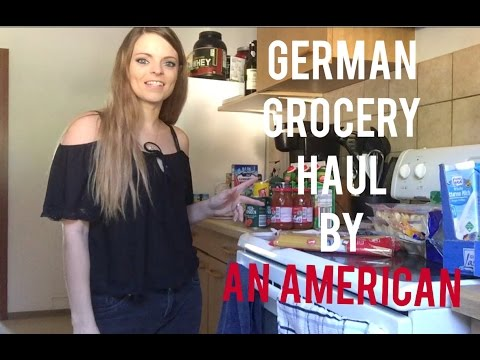 GERMAN GROCERY HAUL BY AN AMERICAN!!