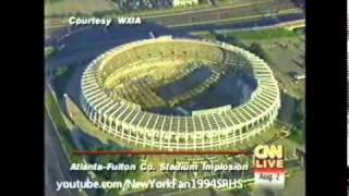 Atlanta Fulton County Stadium Implosion [HQ]