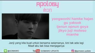 LIRIK IKON - APOLOGY [MV & EASY LYRIC ROM+INDO]